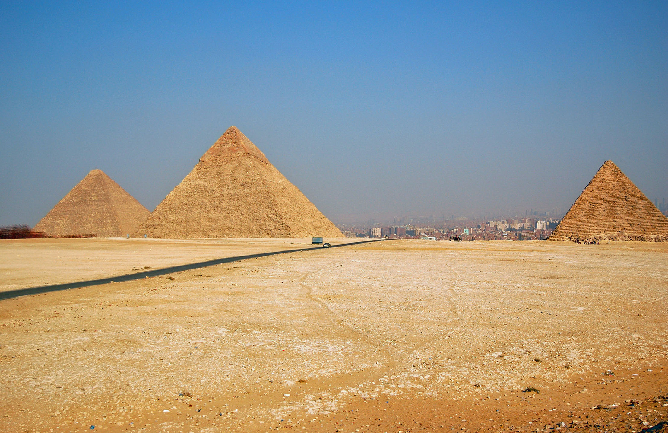 Pyramids of Giza overlooking Cairo. (Submitted photo)