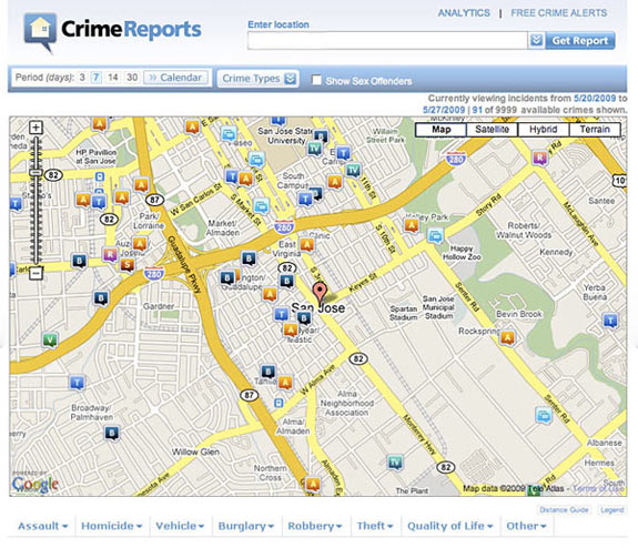 WPD teams with CrimeReports Current Publishing