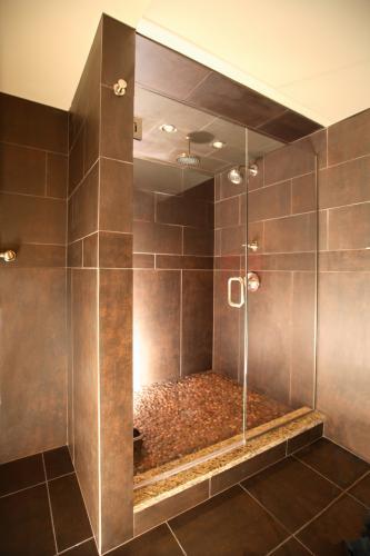 Exotic Bathroom Floor Tiles : Tile sure footed shower floor luxury