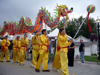 CIC-COM-International Arts Fest-2011 Chinese Dragon Dance Team
