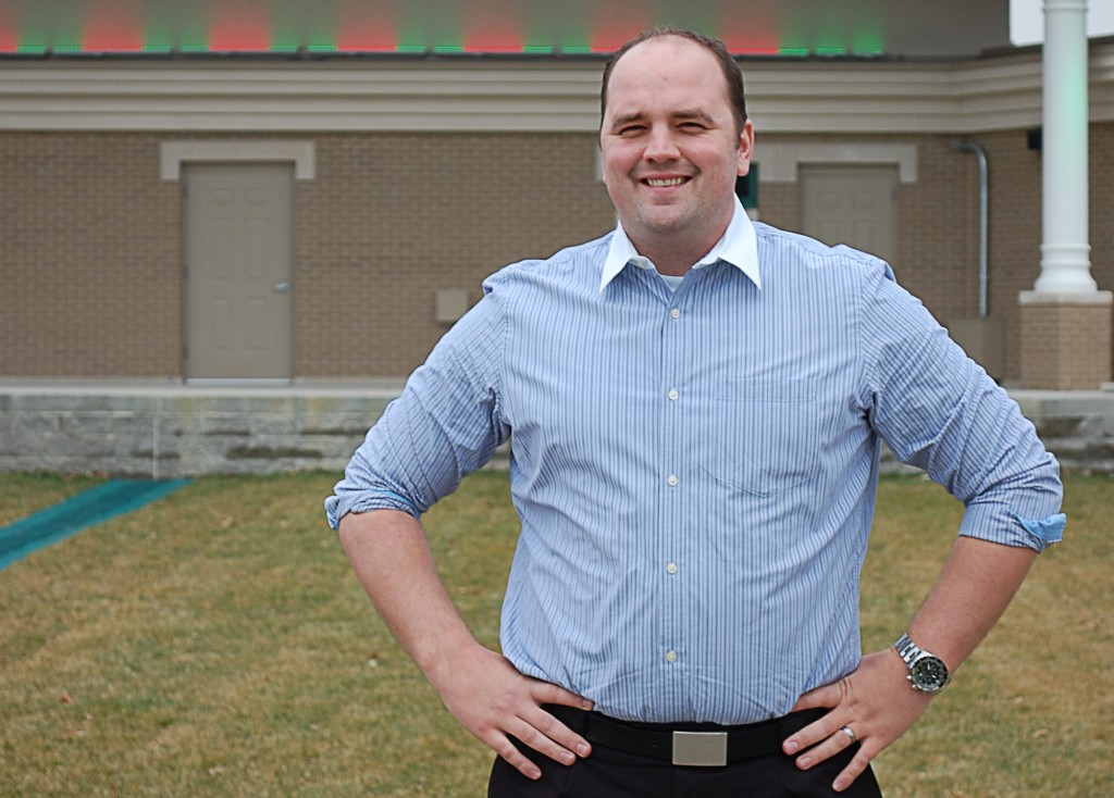 Town Manager Scott Fadness. Photo by Dan Domsic.