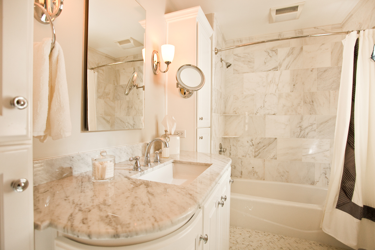 Creating a beautiful bathroom in a small space - Current ... on Small Space Bathroom  id=49331