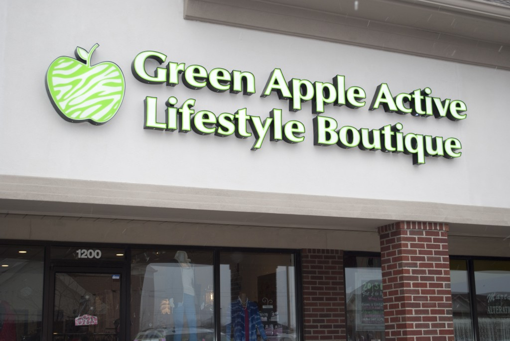 "Opening last November, Green Apple Active Lifestyle has become the community's ""sporty-chic"" boutique."