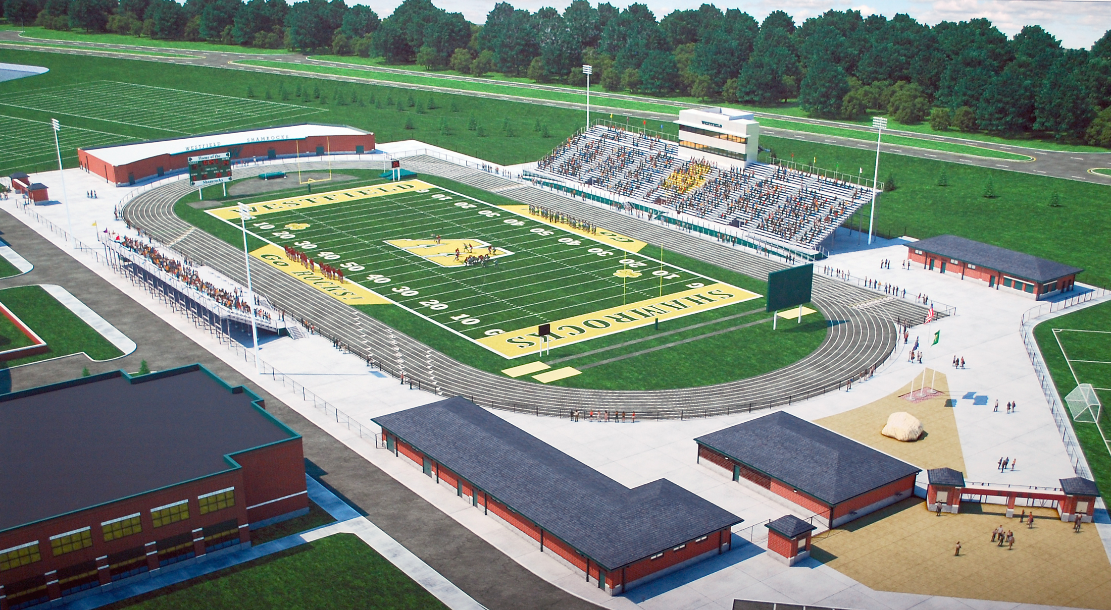 COM-Community Stadium Rendering2