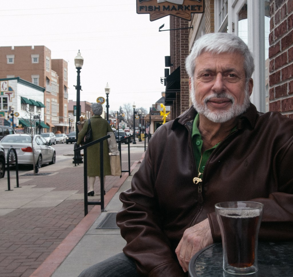 Skip Fioretti, co-owner of Tea Buds in the Arts & DesignDistrict, is not sure if he will renew the shop's lease dueto lackluster business during the cold winter months.