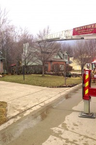 Westfield firefighters save the homes at 14910 Bridlewood Dr. on Feb. 28. (Photos provided by Westfield Fire Department)