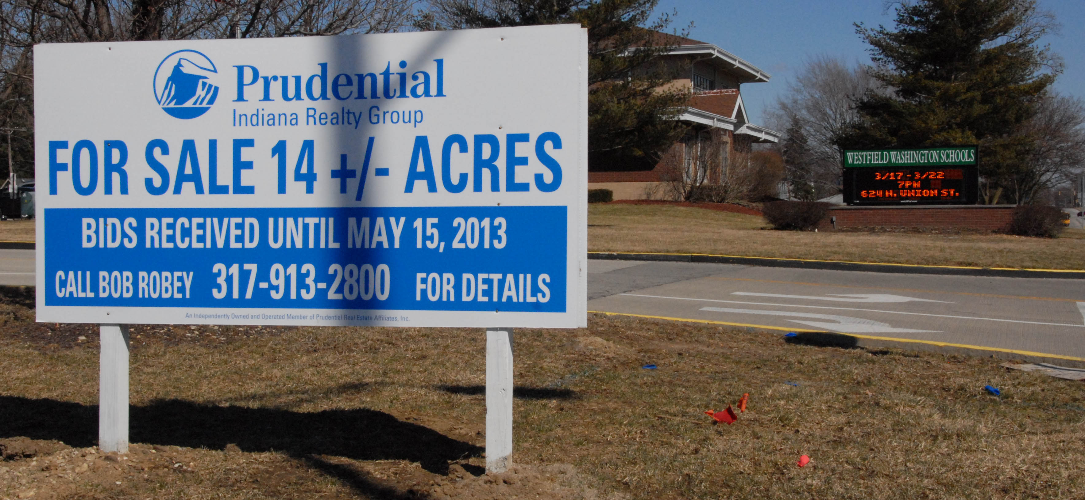 Desirable school land for sale