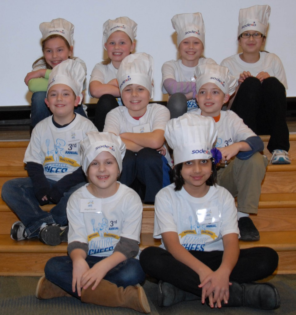 Westfield Washington Schools Future Chef finalists: front row, Abigail Marie Turner-Brooks and Syna Patel; middle row, Cameron Lienhart, Garrett Smith and Will Peters; and back row, Madi Kerrigan, Lana Reinking, Natalie Cartmel and Grace Mayan. Not pictured is Ethan Sanchez. (Photo provided by Tenna Pershing)