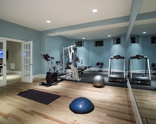 Creating a home gym is easy current publishing - Home workout equipment small space ideas ...