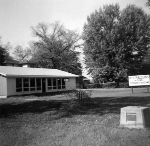 The new Westfield Lions Clubhouse in 1958. It is the same building used by Lions today.