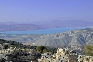 Sea of Galilee from Gadera