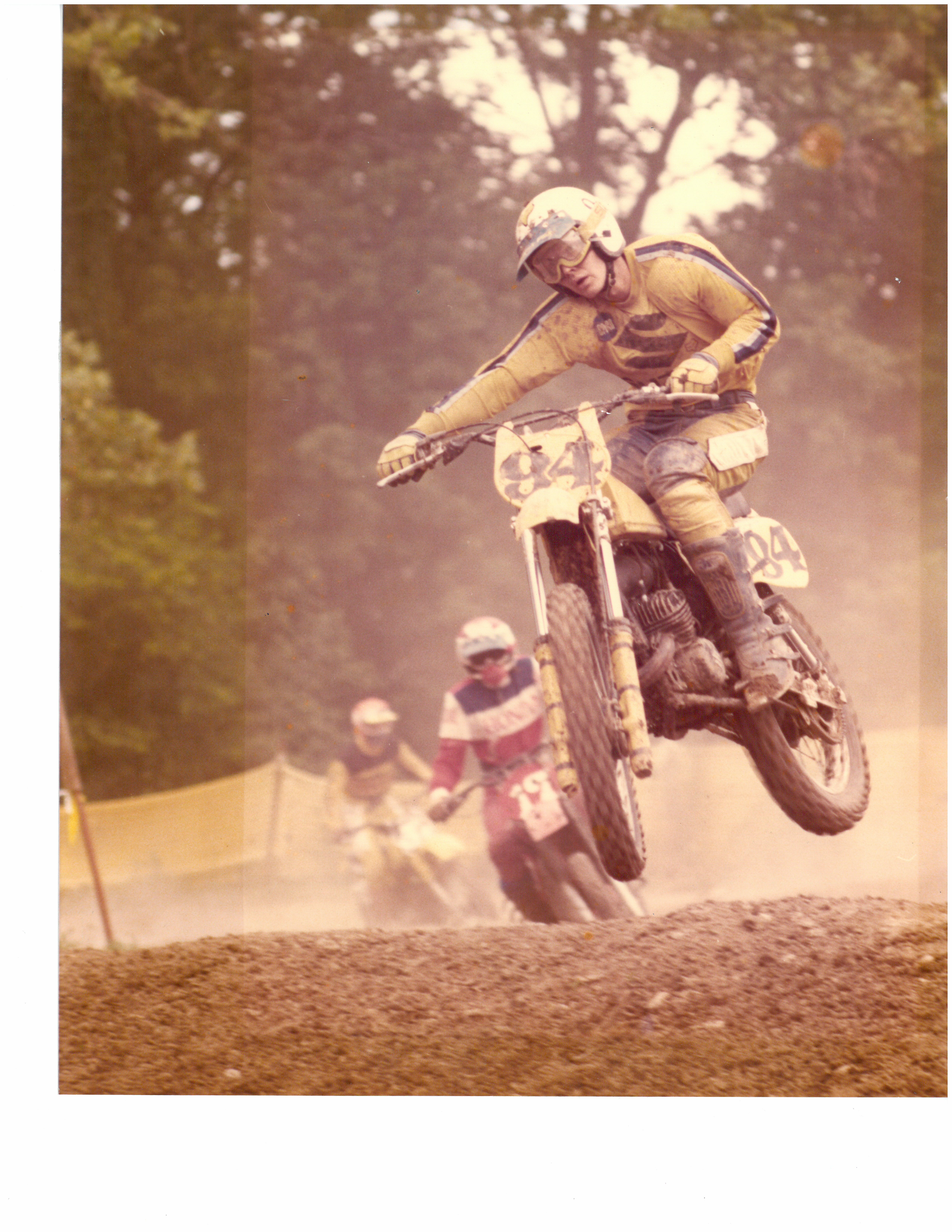 Before becoming paralyzed, Martin raced motocross. Buying a threewheeled motorcycle is on his bucket list.