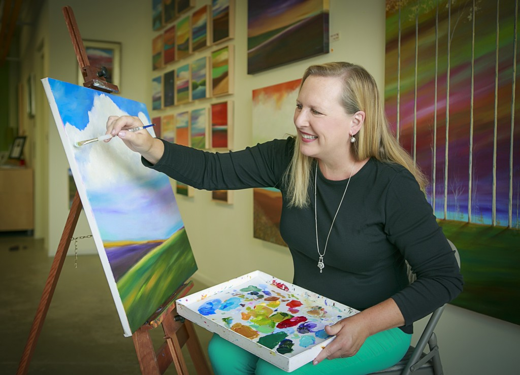 Mary Johnston shares her expertise as an instructor at the Carmel Academy of the Arts. She also displays her works during every Carmel Arts & Design Second Saturday Gallery Walk at 27 E. Main St.