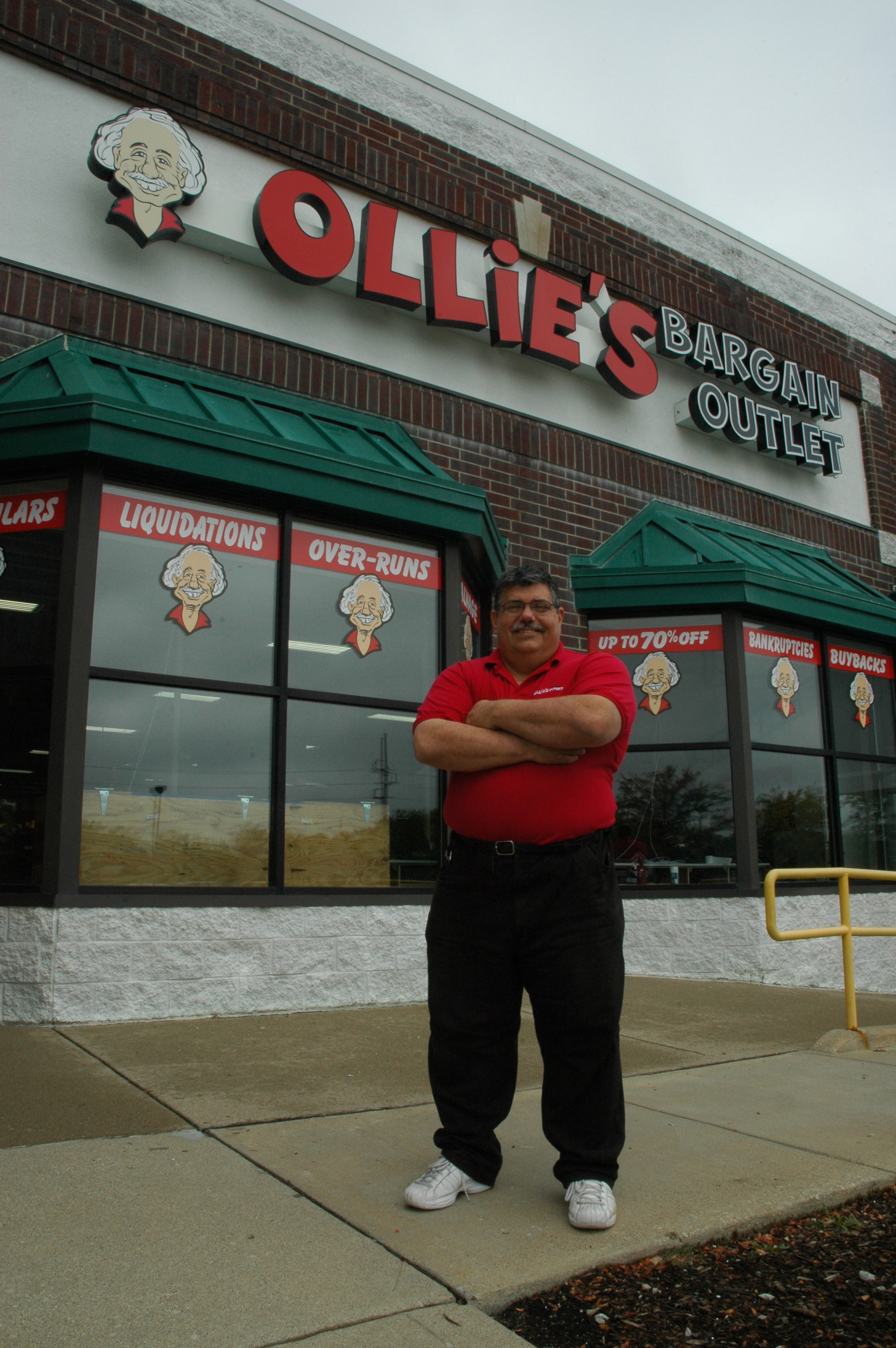 John Santora is the store operating coordinator of Ollie's Bargain Outlet which distinguishes itself from its competition by selling name brand products at prices usually reserved for cheap imitations. Staff photo