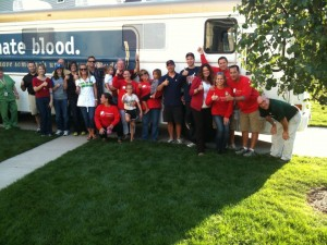 What started with family, friends and two bloodmobiles has turned into an annual event for the Indiana Blood Center and Lyons family of Westfield. This year's goal is 217 donors. (Submitted photos)