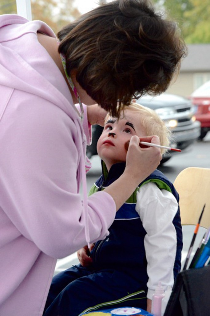 Children's facepainting will be offered at this year's Applefest. (Submitted photo)