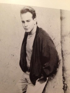 A photo from Ray's acting portfolio in the mid-'90s.