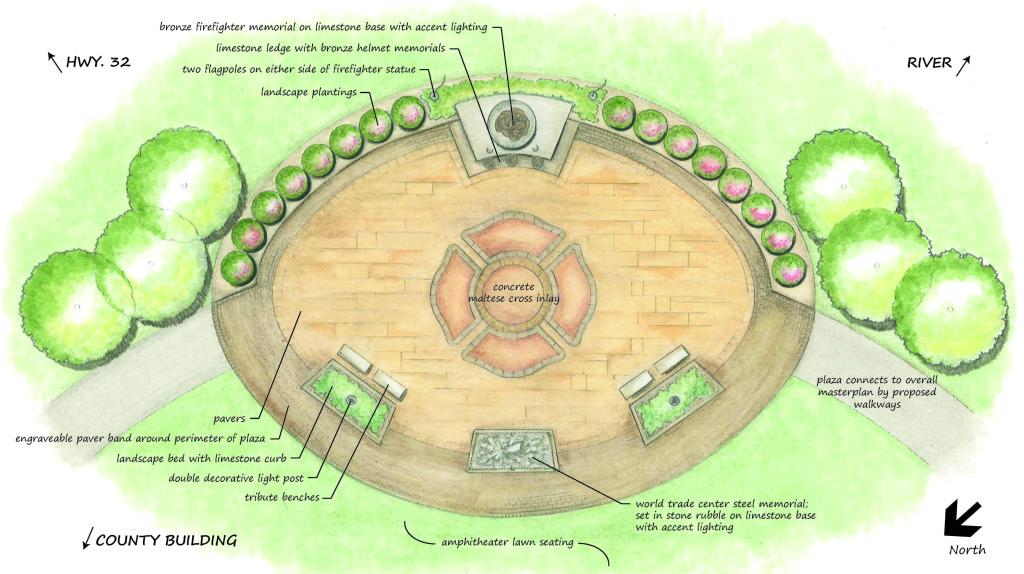 COM-HCFF Memorial Site Plan