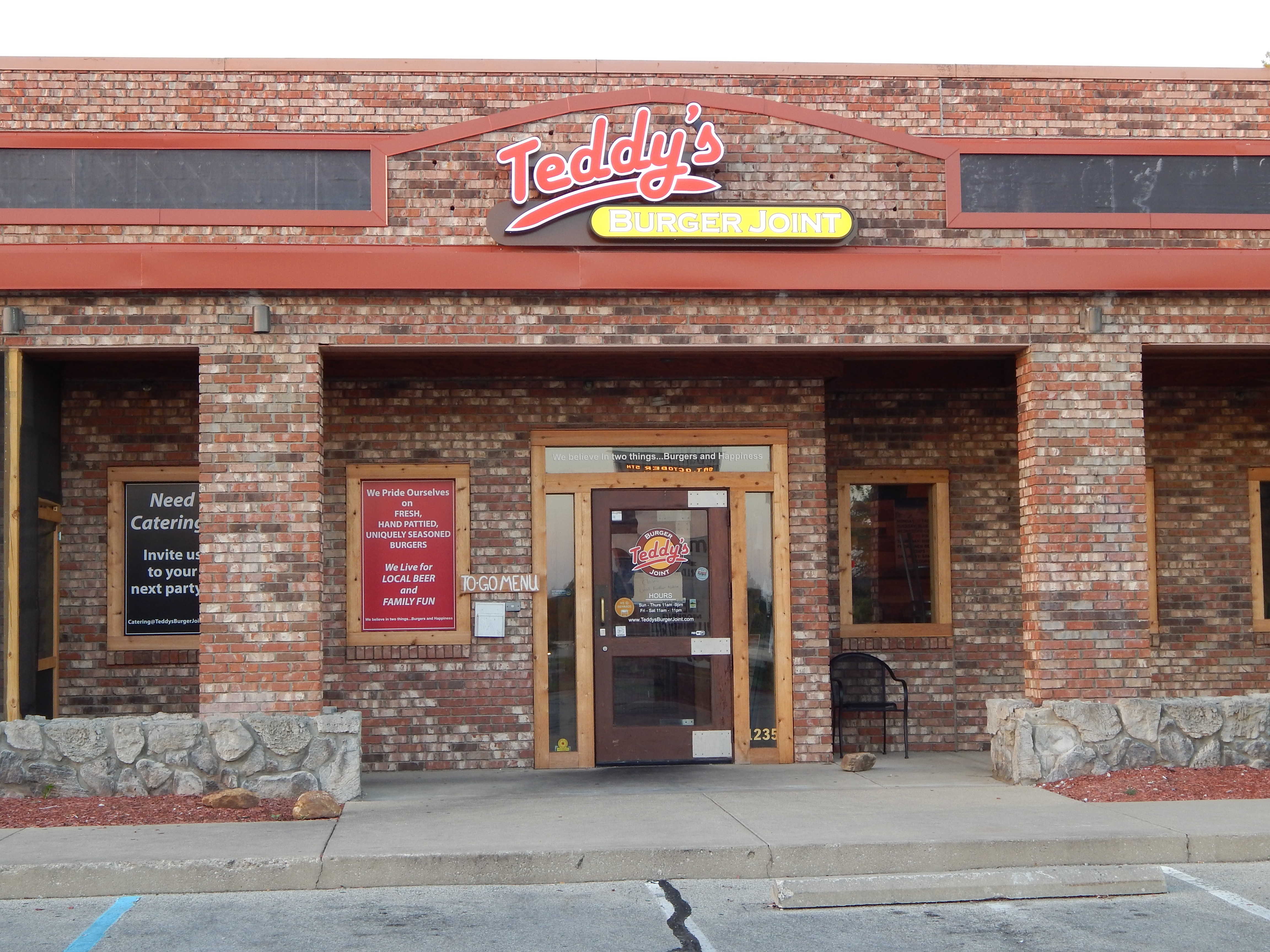 Teddy's Burger Joint closed its doors the last week in September.