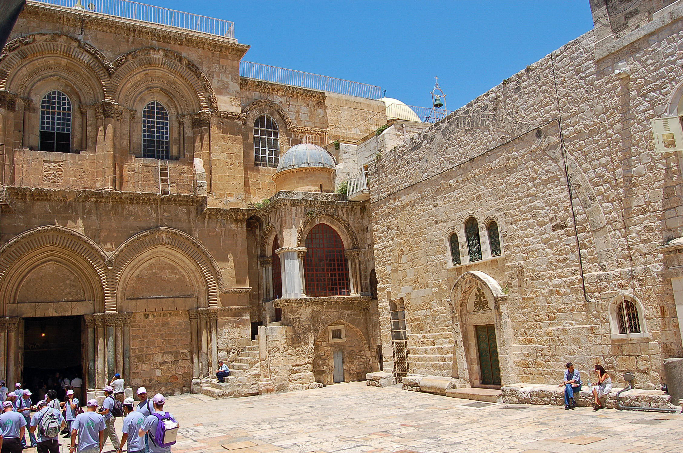 Jerusalem's Church of the Holy Sepulchre arguably is the holiest place on Earth for Christians. (Submitted photo)