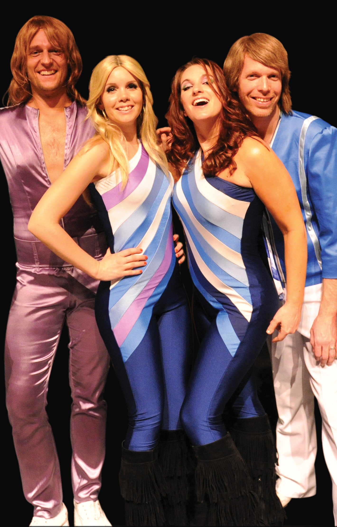 ABBA - The Concert, a tribute band, will perform at the Palladium at 7 p.m. on Oct. 20. (Submitted photo)