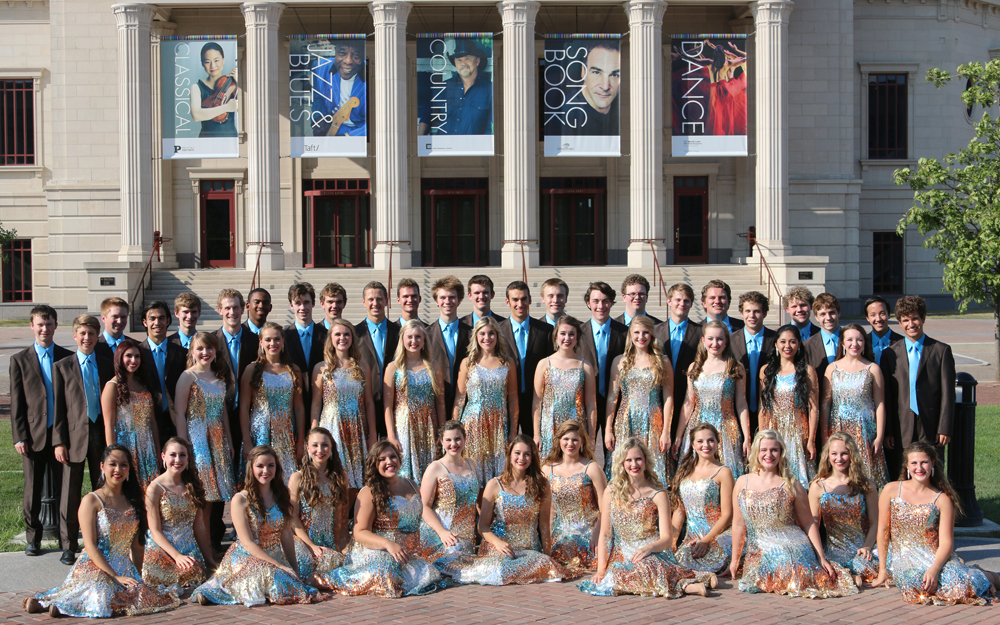 The Carmel High School Ambassadors hope to raise enough money for  the entire show choir to attend performances in Europe in 2014. (Submitted  photo.)