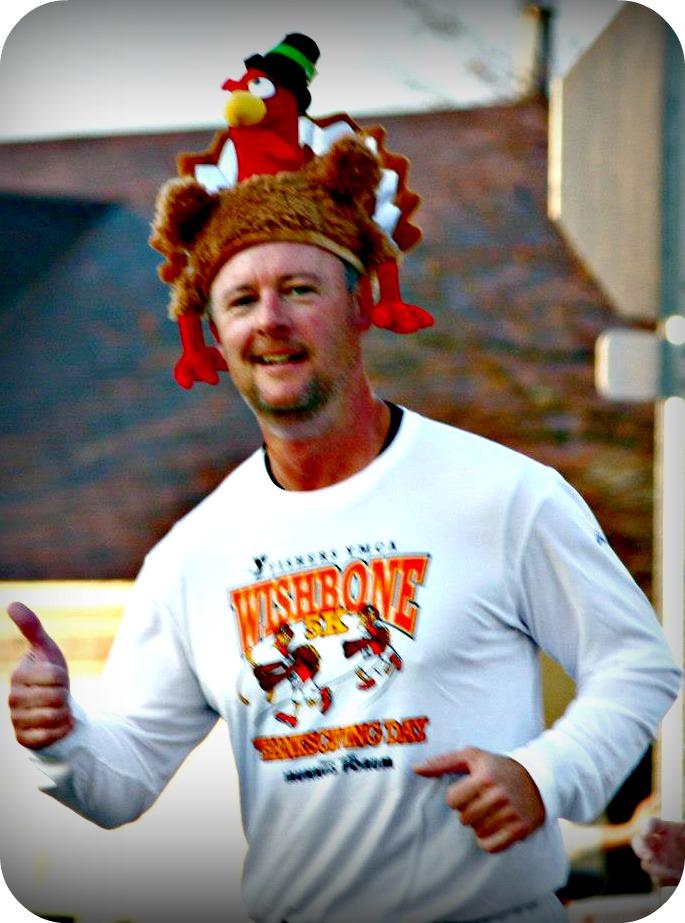 Hamilton County Sherriff Mark Bowen ran in last year's Wishbone 5K Run/Walk. (Submitted Photo)