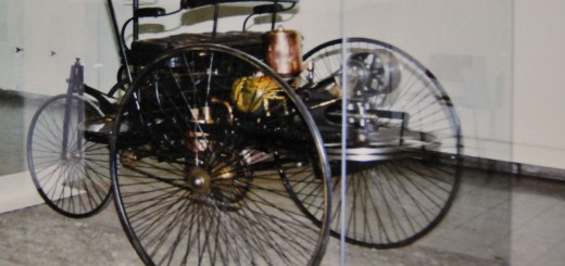 First Automobile in Deutsches Museum (Photo by Don Knebel.)