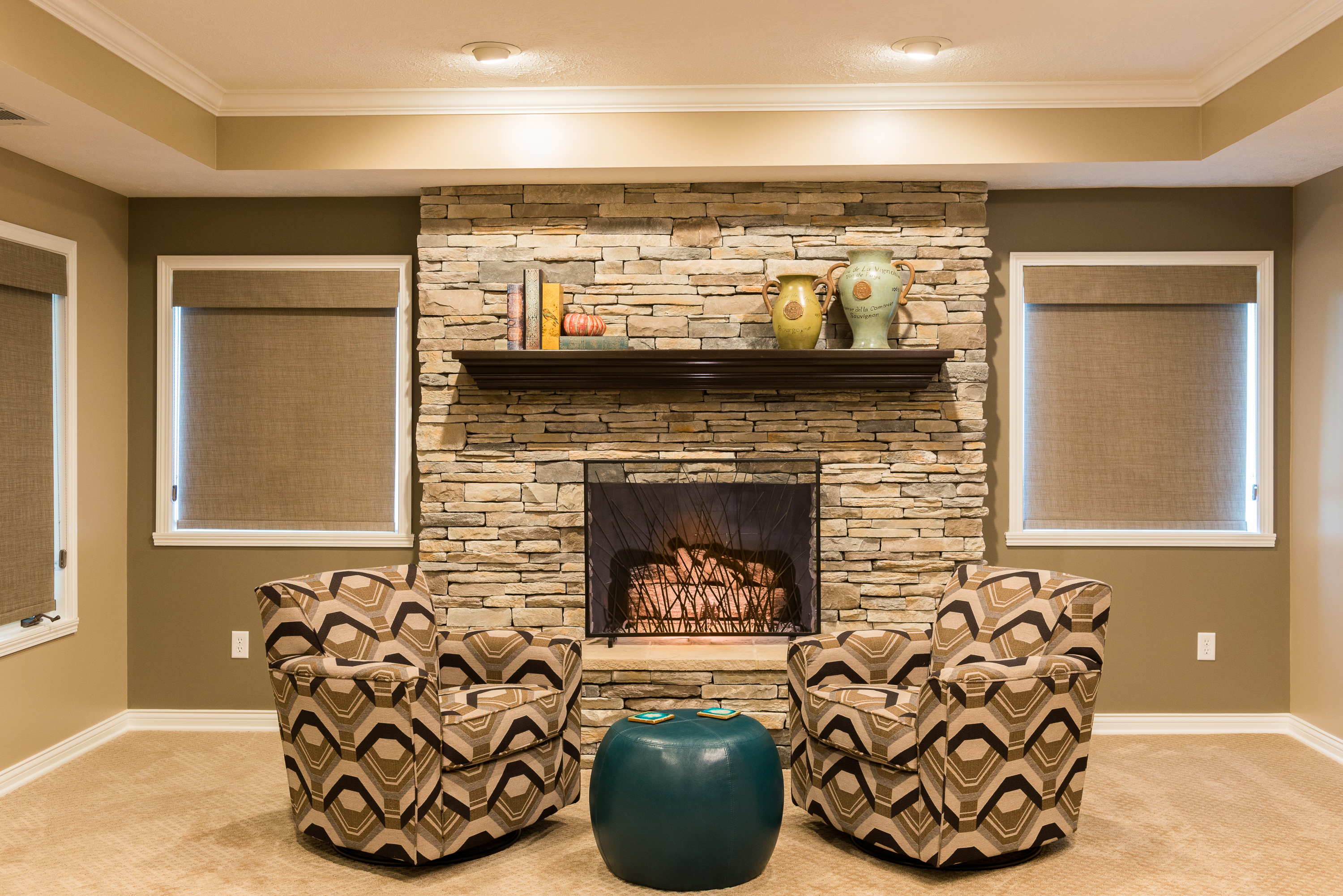 Perfect Remodel Updates S Basement U Current In Carmel With Basement Bars  With Stone