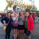 Me and my roomies at CityWalk