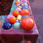 Hide and seek: Can you find the clementines amongst the artwork at CityWalk?