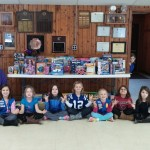 Daisy Troop 1407 conducted a toy drive for cancer patients at Riley hospital. The girls collected 138 toys. (Submitted photo)