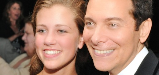Julia Goodwin, left, the 2013 winner of the Great American Songbook Vocal Academy and Competition, poses with singer Michael Feinstein. (Submitted photo)