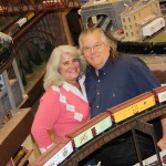 Home Place residents Liz and Steve Nelson operate a model train business in Carmel, Mr. Muffin's Trains. (Submit- ted photo)