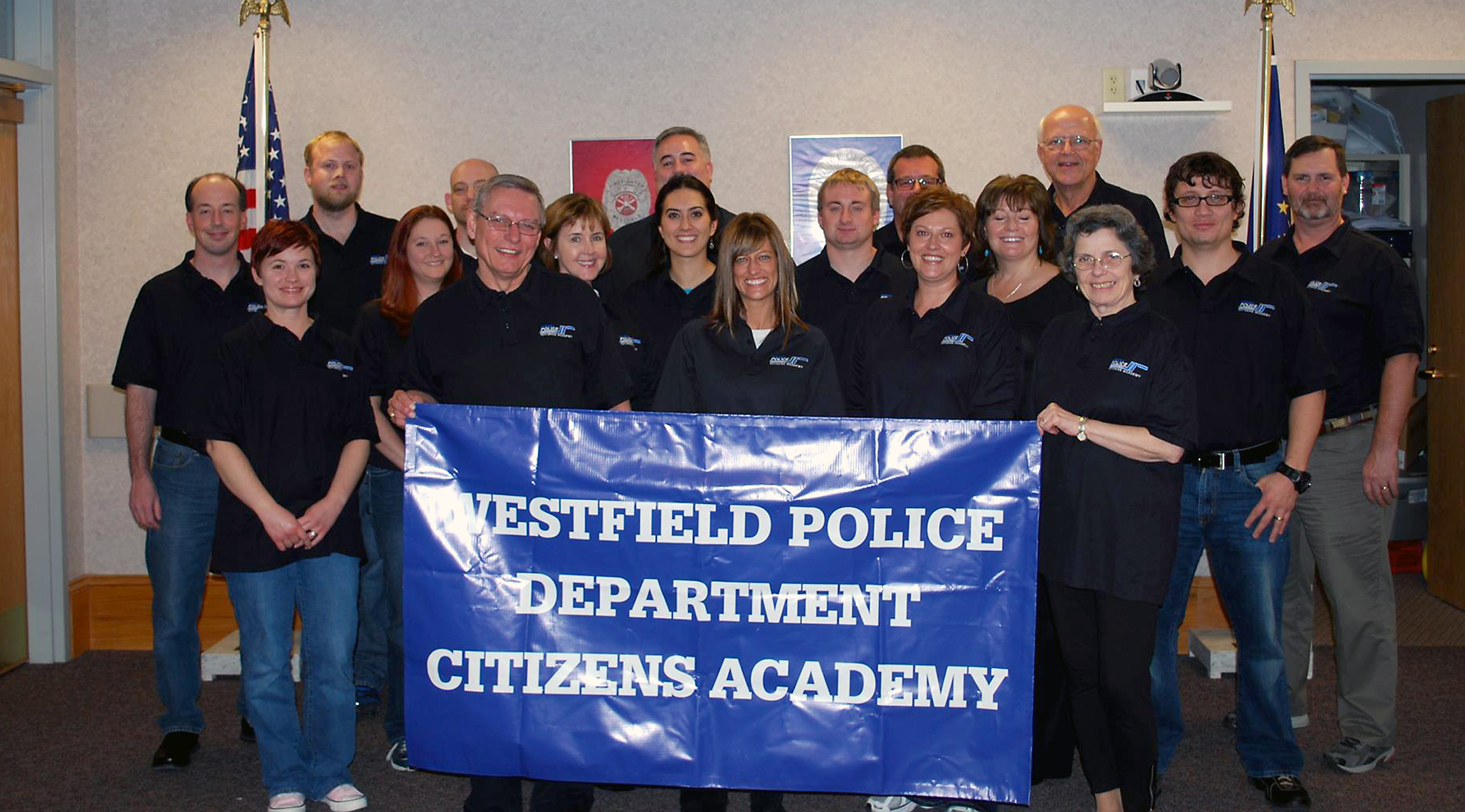 Members of the fall 2013 Citizens' Academy celebrate their graduation at the end of November. Applications are now being accepted for the spring 2014 academy. (Submitted photo)