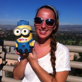 My friend Katie found a minion cup!