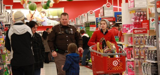 Sheriff's deputies and officers took underprivileged kids on a shopping spree at Target Dec. 14. (Submitted photos)