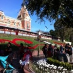 Entrance to Disneyland. Such am amazing day!