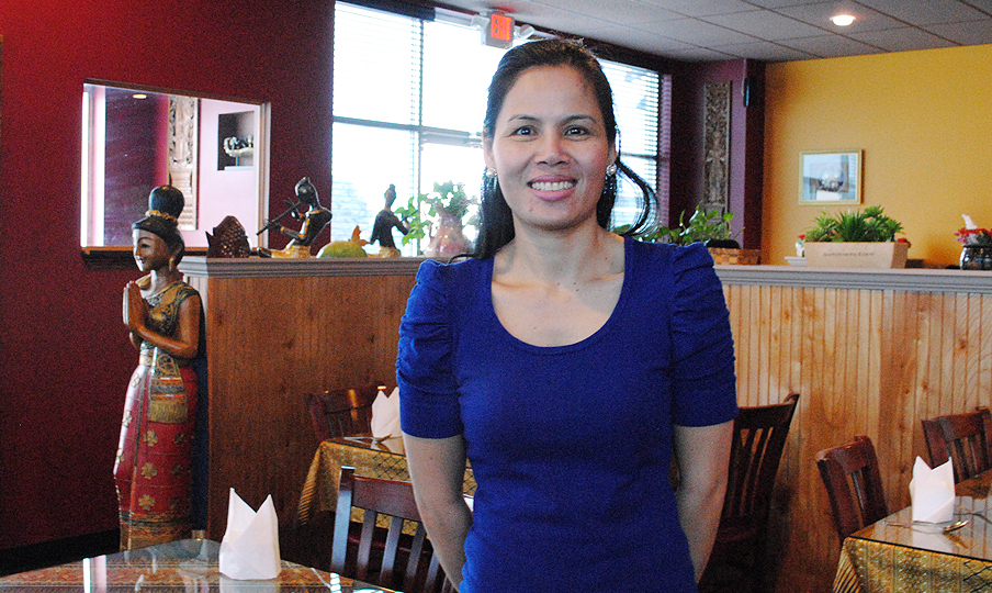 Thai Orchid Restaurant owner Kanlaya Browning plans to open a new Thai Restaurant in Sophia Square facing the Monon Trail in April. (Staff photo)