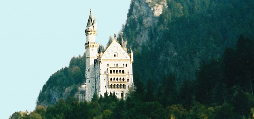 Southwestern view of Neuschwanstein (Photo by Don Knebel.)