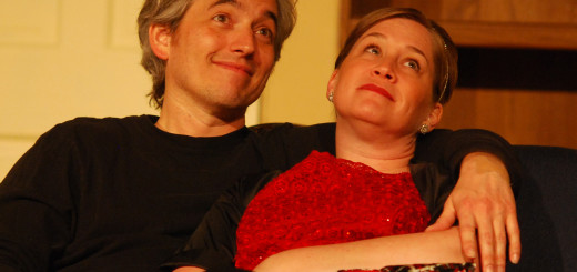"""Gavin and Tamara Rulon star in """"Bell, Book and Candle."""" (Staff photo)"""
