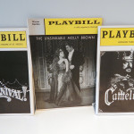 "The original playbills from hit '60s musicals ""Carnival,"" ""The Unsinkable Molly Brown"" and ""Camelot."""