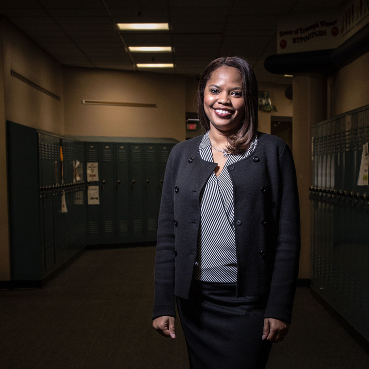 From her time at Ben Davis to her current role as principal for FJHS, Thorpe has continued to focus on the individual needs of students and her belief that everyone should be treated equally.