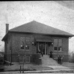 The original Carnegie library was built in 1914. (Submitted photos)