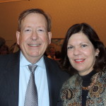 Carmel Mayor Jim Brainard and his wife, Liz Brainard. (Staff photo)