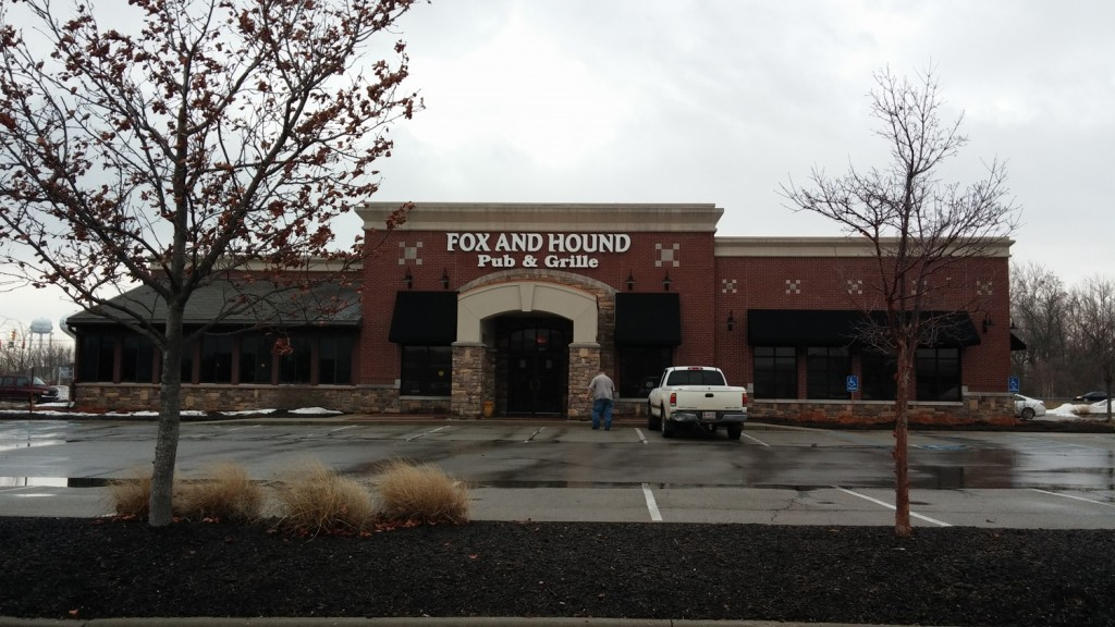 The Fox and Hound was located behind the Lowes at 146th Street and U.S. 31 (Staff photo)