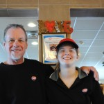 Dairy Queen manager Larry Johnson, left, and Caitie Vaugh have proven to be a great math that the CHS program helped facilitate. (Staff photos)