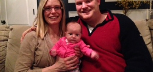Patrick and Amy Poer were parents for the fifth time last month during one of the coldest nights in Indiana history.