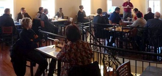 The Westfield Business Development Group and Westfield Chamber of Commerce hosted their first collaborative meeting to help promote new business relationships in the city at Union Baking Co. on Feb. 19. (photo by Curt Whitesell)