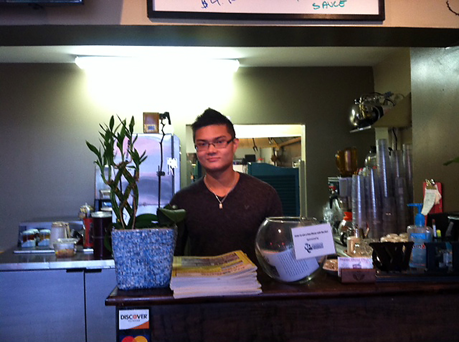 Tony Nguyen, chef and manager of Super Bowl Pho, said the Westfield restaurant is expanding its menu items from 73 to 103 items.